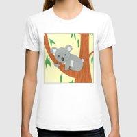 koala T-shirts featuring Koala by Claire Lordon