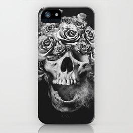 SKULL & ROSES I iPhone Case