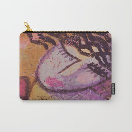 In Love Abstract Acrylic Painting Carry-All Pouch