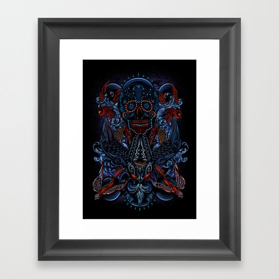 Death in Culture Framed Art Print