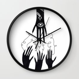 Take what you get here Wall Clock