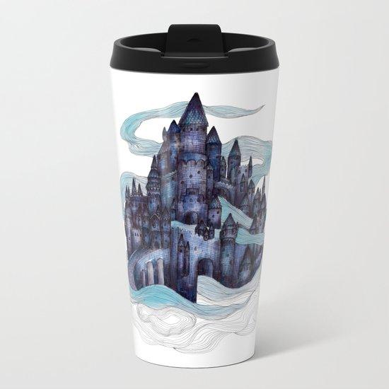 Dream Castle Metal Travel Mug