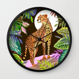 Forest #15 Wall Clock