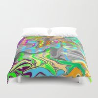 trippy Duvet Covers featuring Trippy by Cale potts Art