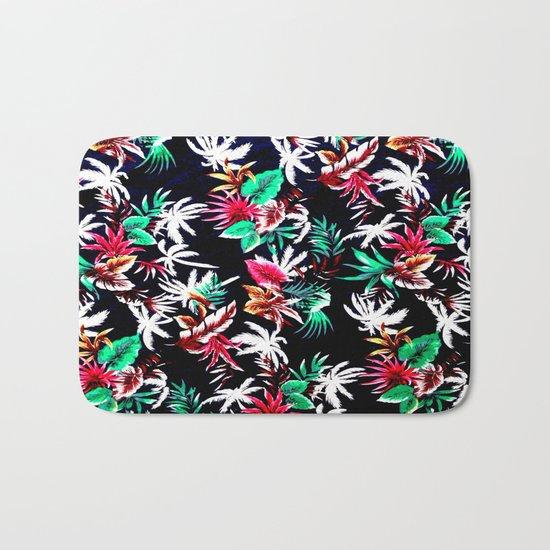 Exotic Flower Bath Mat