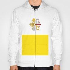 Flag Of Vatican City Hoody