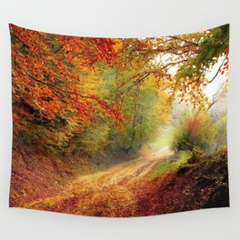 Autumn Landscape | Paysage d'automne Wall Tapestry