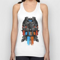 mask Tank Tops featuring MASK by DIVIDUS DESIGN STUDIO