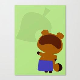 Animal Crossing Tom Nook Canvas Print
