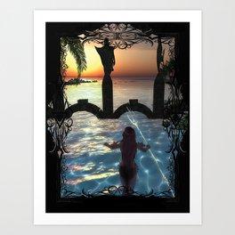 Dawns Embrace Art Print