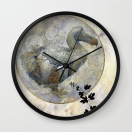 The lonely Dodo Wall Clock