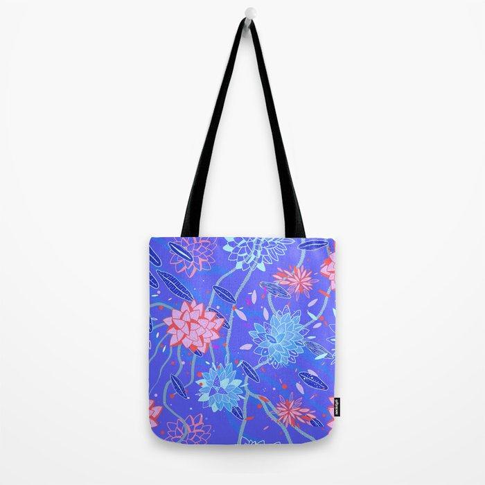 Heroinax Freaky Flowers Tote Bag