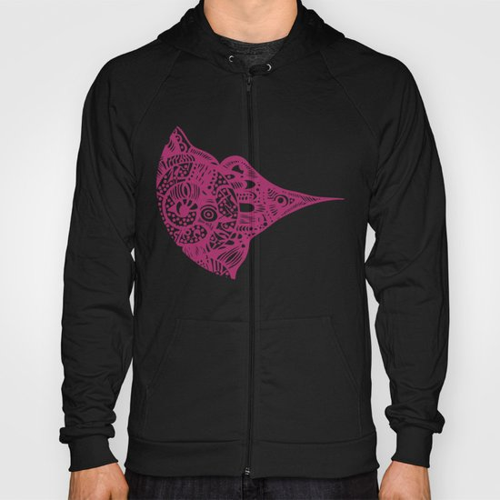 INK #11 Wild Bird Hoody