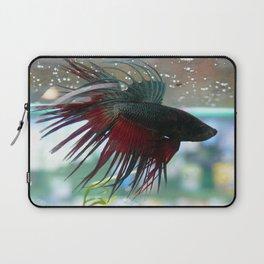 Fighter Fish Laptop Sleeve