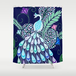 Moonlark Garden Shower Curtain