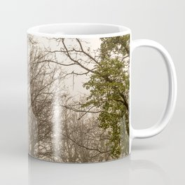 The mist in the forest Coffee Mug