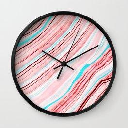 Between the Lines #society6 #dcor #buyart Wall Clock
