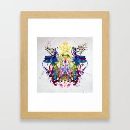 Abstraction of two Framed Art Print