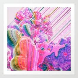 STRIPEHYPE.9000 Art Print