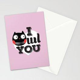 I OWL YOU Stationery Cards