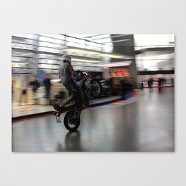 Wheelie Time Canvas Print