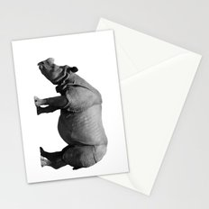 Bored Rhino Stationery Cards