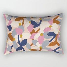 Petal Block Rectangular Pillow