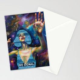 White noise Stationery Cards