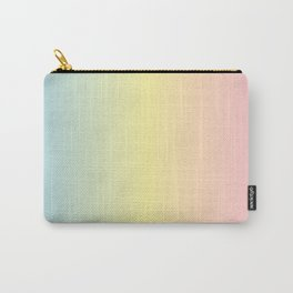 Pastel Gradient Unicorn Print Carry-All Pouch