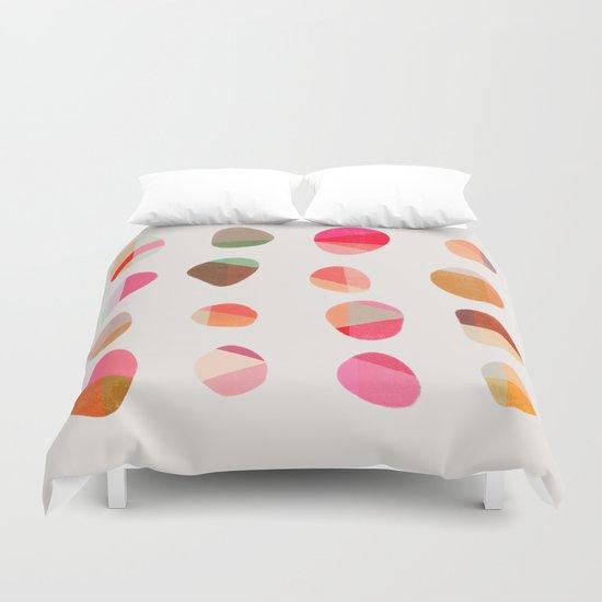 Painted Pebbles 5 Duvet Cover