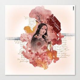 Shakespeare Ladies #2 Canvas Print