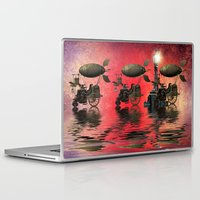 steampunk Laptop & iPad Skins featuring Steampunk by Shalisa Photography