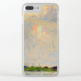 Tom Thomson Misty Sky c. 1913-1914 Canadian Landscape Artist Clear iPhone Case
