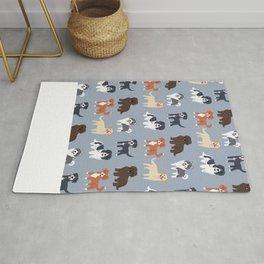 CANADIAN DOGS Rug