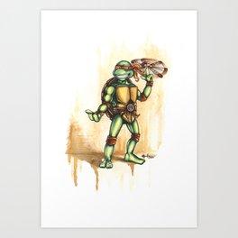 Playful Mikey Art Print