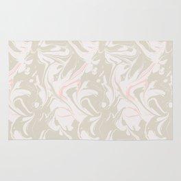 Beige marble pattern Rug