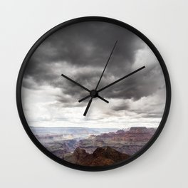 Grand Canyon Storm Wall Clock