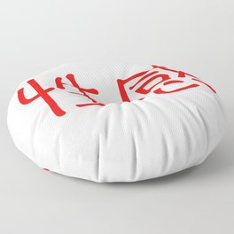 Chinese characters of Sexy Floor Pillow