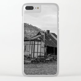 Old Derelict Farm House, Wisemans Ferry, NSW Clear iPhone Case