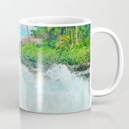 Aloha mai e Pā'ako Beach Mākena Maui Hawaii Coffee Mug