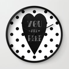 You are here. Wall Clock