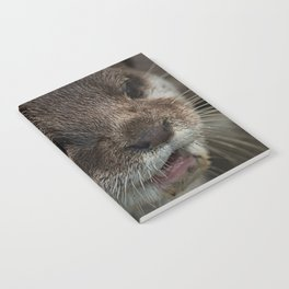 Otterly Sweet Face Notebook