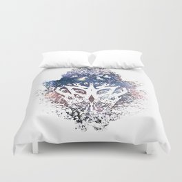 You don't see it until you do. Duvet Cover