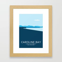 Caroline Bay Framed Art Print