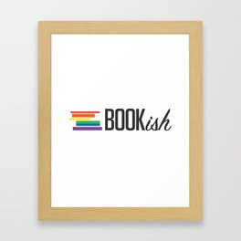 Bookish and Proud Framed Art Print
