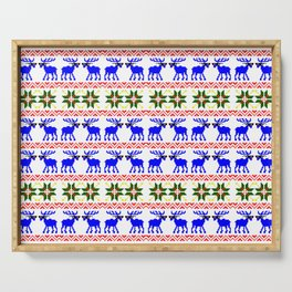 Ugly Sweater ( Deal With It ) Serving Tray
