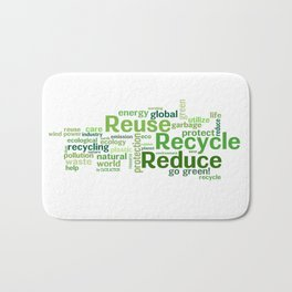 ECO Collection - model 5 Bath Mat