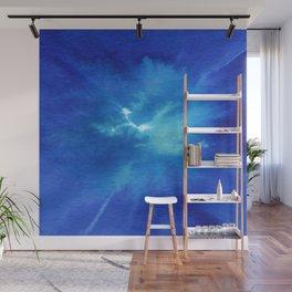 Blue Powder Wall Mural