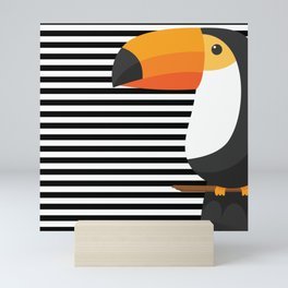 TOUCAN tropical toucans Mini Art Print