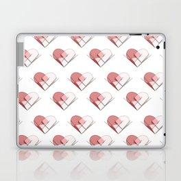 Heart of Glass Geometric Heart Pattern Design Laptop & iPad Skin
